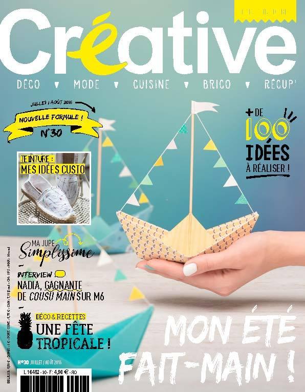 Découvrez l'histoire de Virginie , la créatrice de Créative Magazine sur le blog⎟ Talented Girls, conseils business et ondes positives pour les femmes entrepreneures ! www.talentedgirls.fr