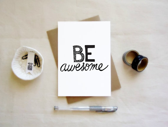 be awesome print