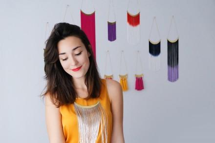 ebru créatrice de epuu bijoux en broderie pour talented girls