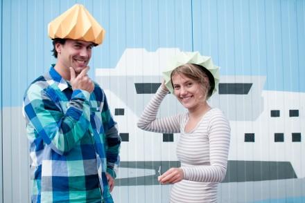 interview nellianna et kenneth créateurs studio snowpuppe lampes en papier origami pays bas pour talented girls 3