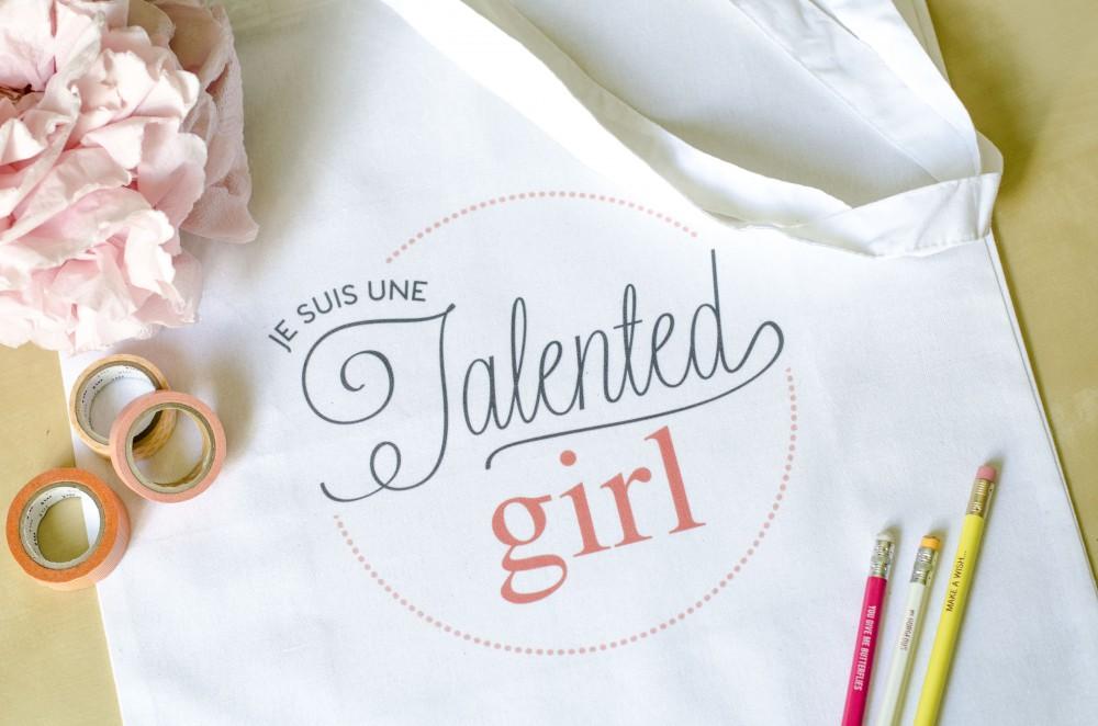 boutique je suis une talented girl talented girls mug totebag personnalisés_4