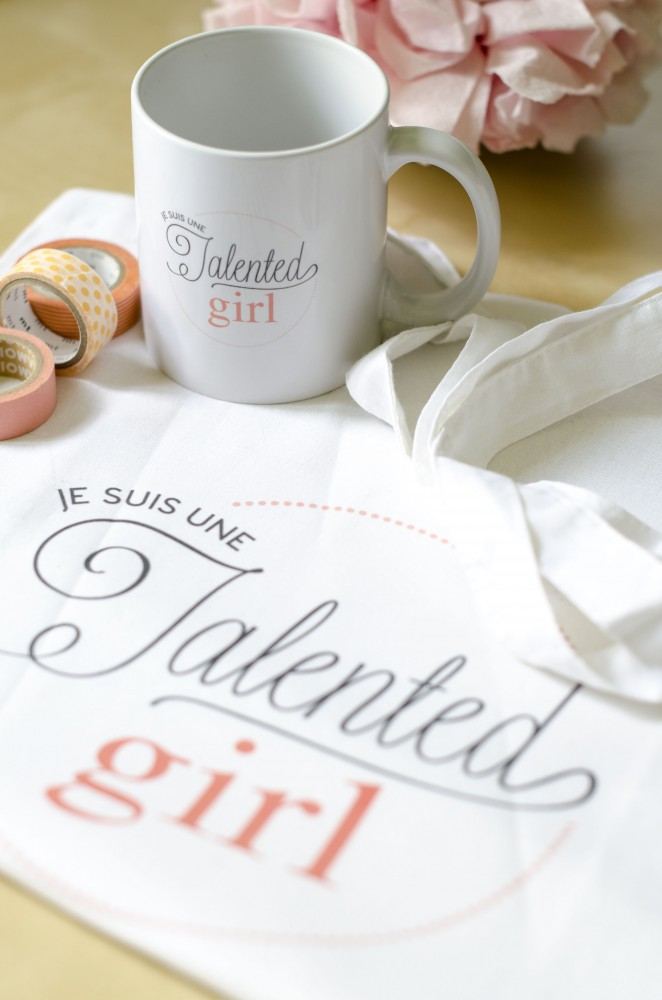 boutique je suis une talented girl talented girls mug totebag personnalisés_5