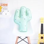 Talented Girls cadeaux de noel cactus coussin