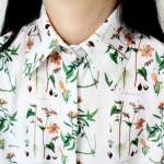 Talented Girls cadeaux de noel chemise végétale