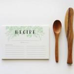 Talented Girls cadeaux de noel fiches de recettes