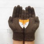 Talented Girls cadeaux de noel gants renards