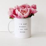 Talented Girls cadeaux de noel mug boss