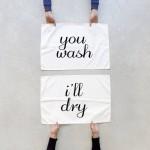Talented Girls cadeaux de noel serviettes