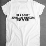 Talented Girls cadeaux de noel tshirt garçon manqué