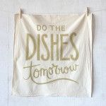 cadeaux noel talented girls do the dishes tomorrow