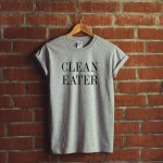 t shirt clean eater cadeaux noel talented girls