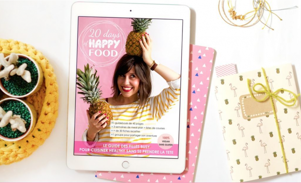 20 days of happy food guide pour apprendre à manger vegan et sain, Idées de cadeaux immatériels de dernière minute⎟Talented Girls, conseils business et ondes positives pour les femmes entrepreneures !